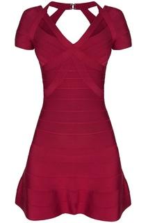 Облегающее платье из вискозы Alexandra Hervé Léger