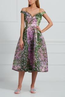 Платье с принтом Natasha Zinko