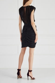Платье с пайетками Elisabetta Franchi
