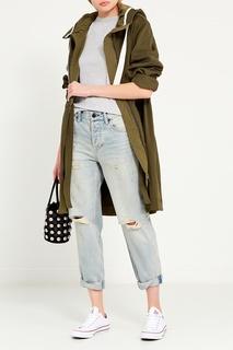 Пальто с контрастными завязками Dorothee Schumacher