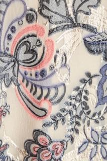 Платье с цветочным узором Alena Akhmadullina