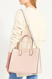 Розовая сумка Mercer Michael Kors