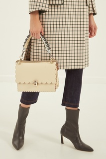 Ремень для сумки с фигурной отделкой Fendi