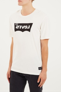 Белая футболка с принтом Levi's® Line 8 Levis®