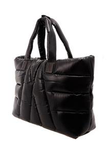 Стеганая черная сумка Moncler