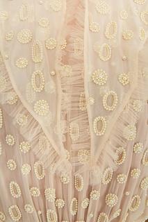 Шелковое платье с бисером Alena Akhmadullina