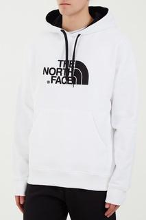 Белое худи с логотипом The North Face