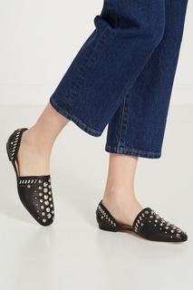Черные туфли Globe Flat Jimmy Choo