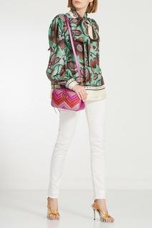 Разноцветная сумка GG Marmont Gucci