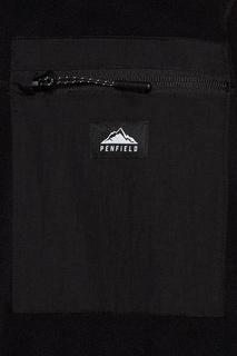 Черная флисовая толстовка Yuma Penfield