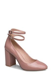 Лакированные туфли с двумя ремешками Portal