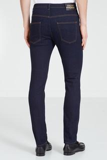 Темно-синие джинсы Gucci Man