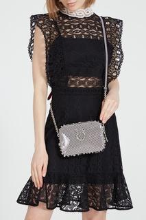 Компактная полосатая сумка-кроссбоди Rubylou Christian Louboutin