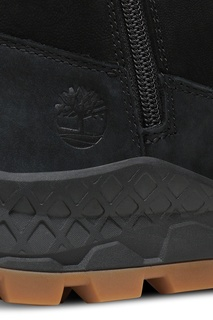 Черные ботинки Timberland