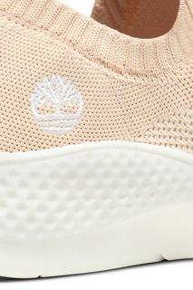Светло-бежевые текстильные кроссовки Timberland
