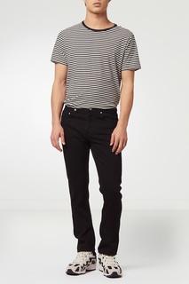 Черные джинсы зауженного кроя Sandro