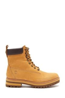 Высокие ботинки цвета охры Timberland