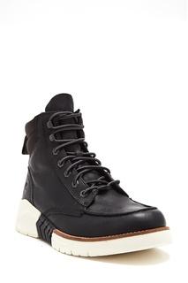 Черные ботинки со спортивной подошвой Timberland