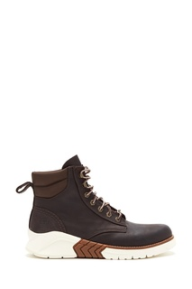 Коричневые ботинки из нубука Timberland