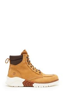 Светло-коричневые ботинки из нубука Timberland