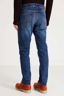 Синие джинсы прямого кроя Timberland