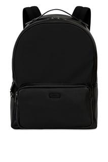 Черный рюкзак из кожи Furla