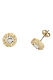 Золотистые серьги Medallion Furla