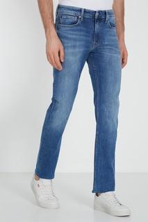 Голубые джинсы-скинни Calvin Klein