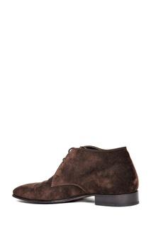 Коричневые ботинки на шнуровке Artioli