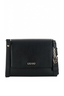 Черная сумка-кроссбоди с логотипом Liu Jo
