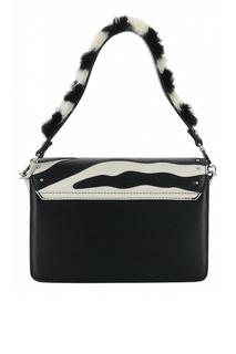 Маленькая черно-белая сумка Liu Jo