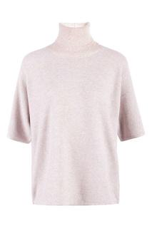 Кремовый шерстяной пуловер с кулиской Fabiana Filippi