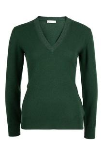 Зеленый трикотажный пуловер Fabiana Filippi