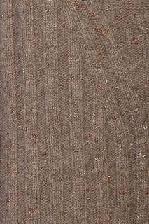 Серый свитер из шерсти с декором стразами Antonio Marras