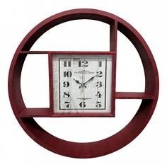 Настенные часы (80x11x80см) Galaxy DA-001 Red