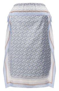 Шелковая юбка Burberry