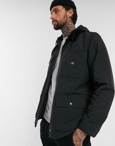 Черная куртка Vans-Черный