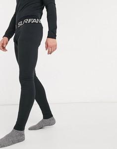 Черные леггинсы Surfanic-Черный