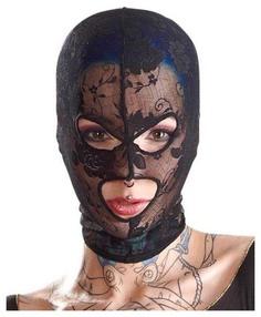 Кружевная маска-балаклава с отверстиями для глаз и рта Орион