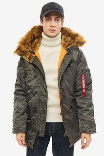 Куртка мужская Alpha Industries 103141 серая L