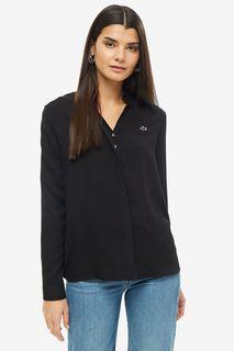 Блуза женская Lacoste CF204545ST черная 40 FR