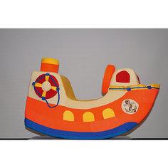 """Детская качалка Paremo """"Кораблик"""", оранжевый"""