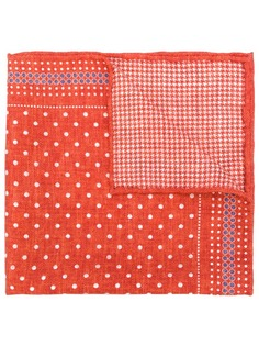 Brunello Cucinelli платок-паше в горох