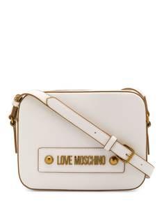 Love Moschino сумка-сэтчел со съемным ремнем и логотипом
