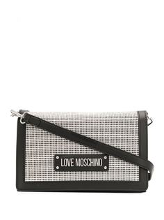 Love Moschino сумка на плечо с заклепками и логотипом