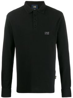 Cavalli Class рубашка-поло с длинными рукавами