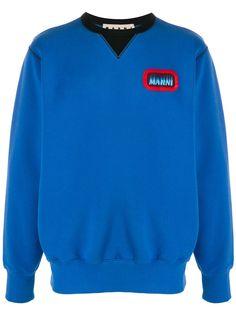 Marni свитер с контрастным воротником