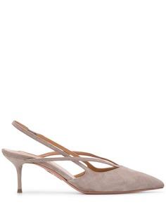 Aquazzura туфли с ремешком на пятке