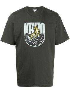 Kenzo футболка с принтом