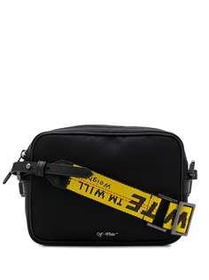 Off-White сумка через плечо с логотипом